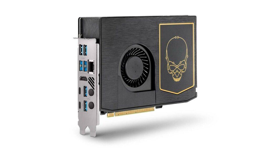 Intel ra mắt NUC 11 Extreme với thiết kế mô đun, tích hợp CPU Core i9 vào trong 1 chiếc card