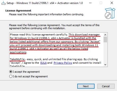 Windows 11 giả
