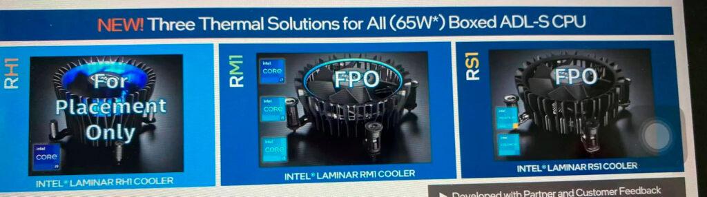 Tản stock Intel