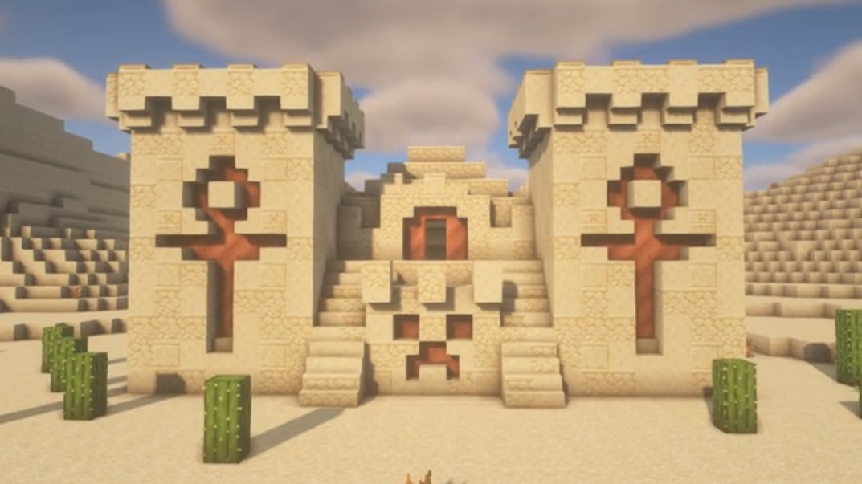 đền sa mạc minecraft
